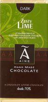100g Dark Zesty Lime Chocolat Noir