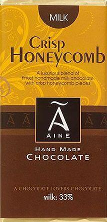 100g Milk Crisp  Honeycomb Chocolat Noir 60 %