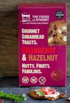 Cranberry & Hazelnut Soda Bread Toast