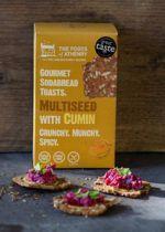 Multi seed and Cumin Soda Bread Toasts